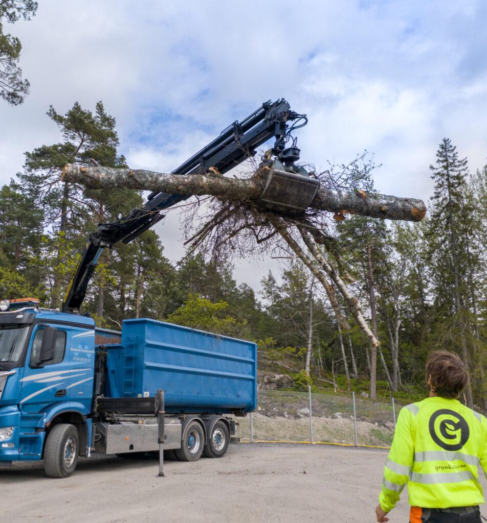 professionell bortforsling på Värmdö och i Stockholm